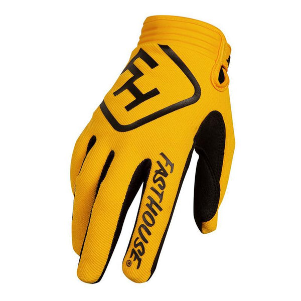FASTHOUSE SPEED STYLE SOLID ADULT GLOVES YELLOW