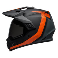 BELL 2019 MX-9 ADVENTURE MIPS (SWITCHBACK MATTE BLACK/ORANGE)