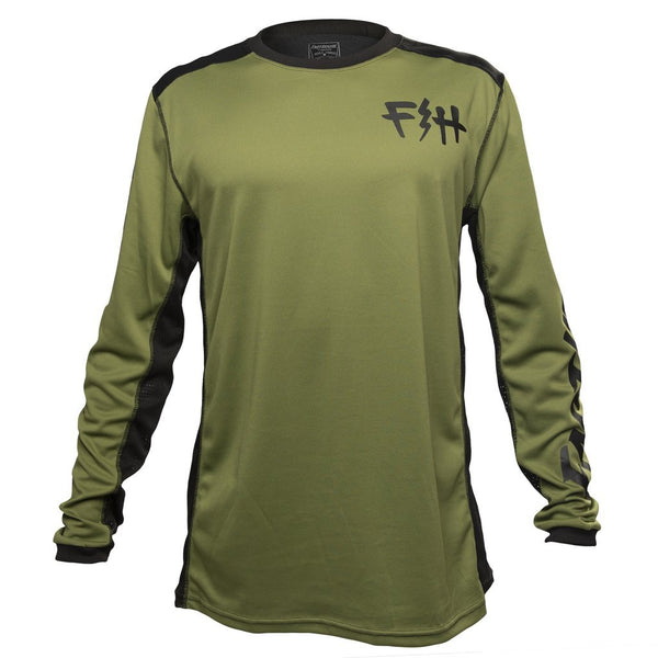 FASTHOUSE FAST BOLT JERSEY OLIVE