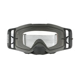 OAKLEY FRONT LINE MX GOGGLE (MATTE BLACK SPEED) CLEAR LENS
