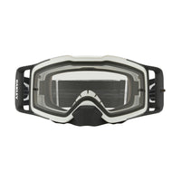 OAKLEY FRONT LINE MX GOGGLE (MATTE WHITE SPEED) CLEAR LENS