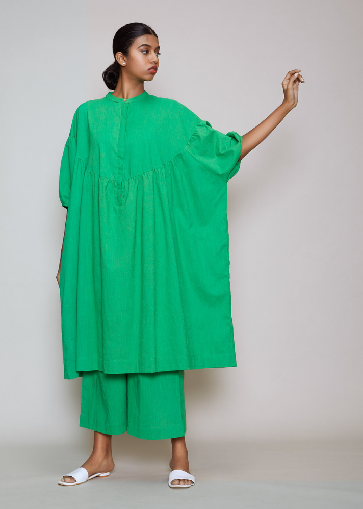 Acra Tunic Dress Green - onlyethikal