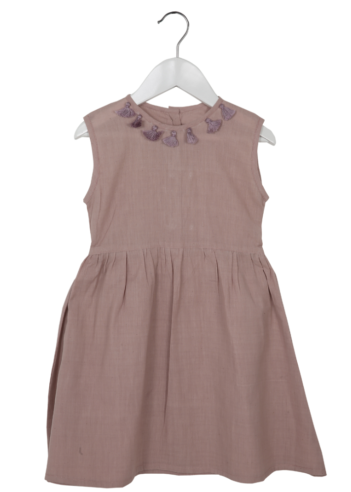 Organic Primrose Dress Floss - Ethical made fashion - onlyethikal