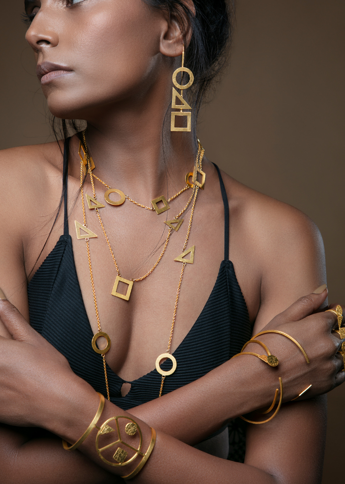 TBC Signature Multilayered Neckpiece - onlyethikal