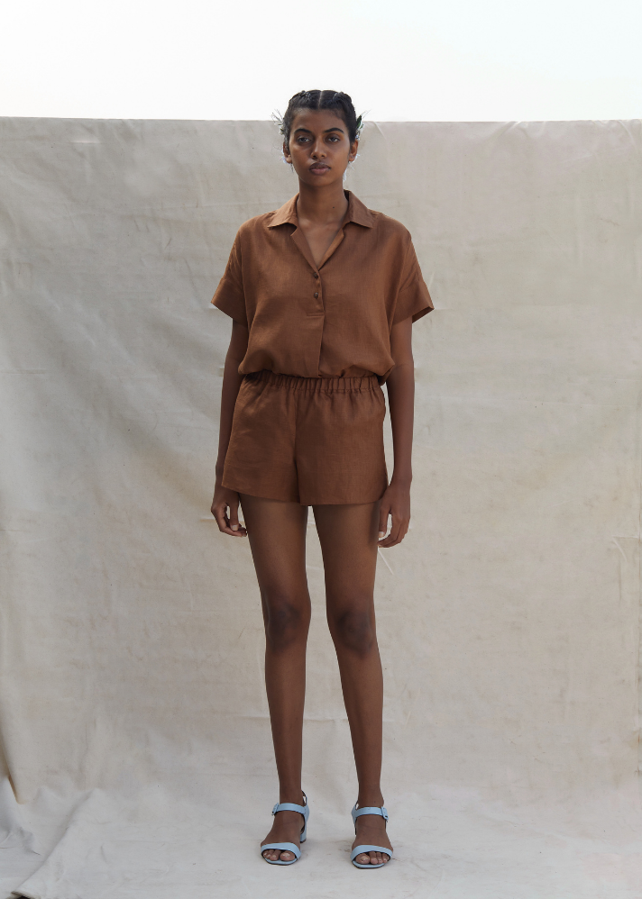 Darcel Shorts - Ethical made fashion - onlyethikal
