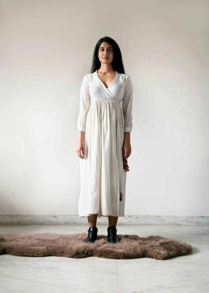 Out of Office Wrap Dress - onlyethikal