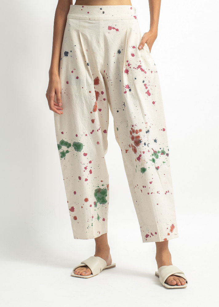 Hand Painted Boyfriend Pants - onlyethikal