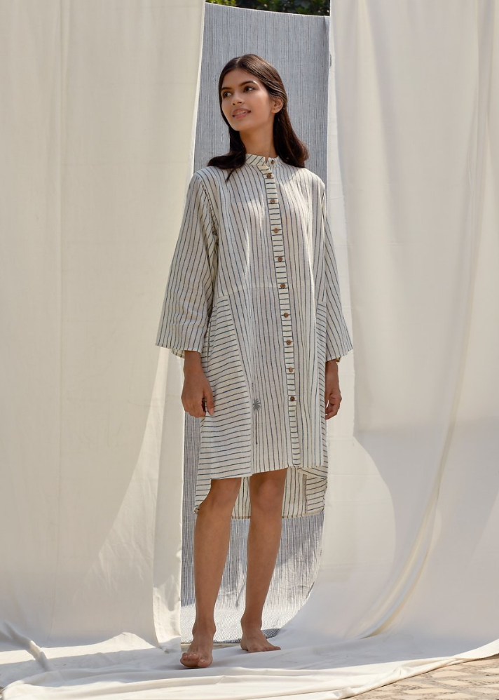 Weave a Palm Organic Cotton Dress - onlyethikal