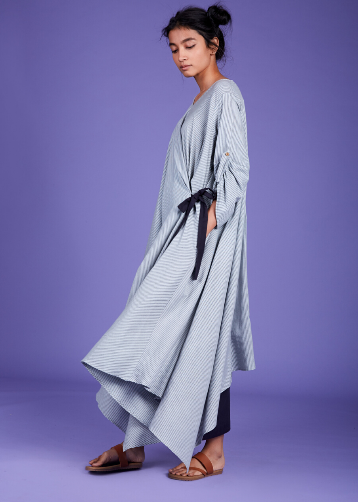 Maxi Dress - Blue - Ethical made fashion - onlyethikal