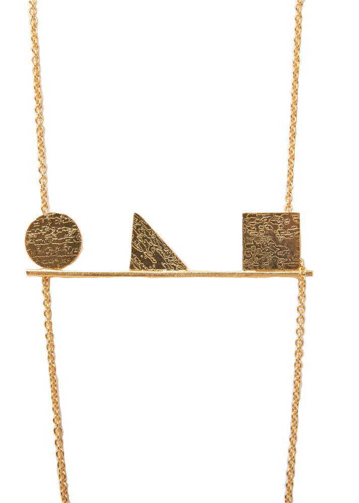 TBC Signature Stand in Line Neckpiece - Ethical made fashion - onlyethikal