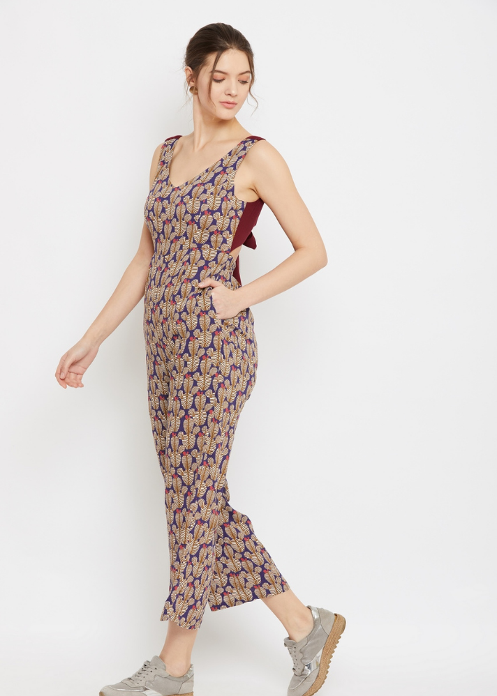 Caitlin Printed Jumpsuit - onlyethikal