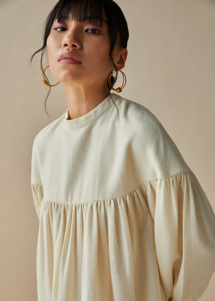 The Dreamy Handwoven Wool Dress - onlyethikal