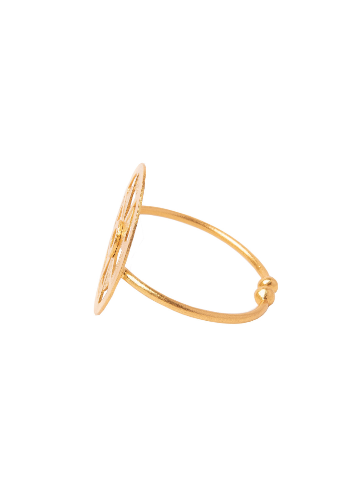 Steering Circle Cuff - Ethical made fashion - onlyethikal