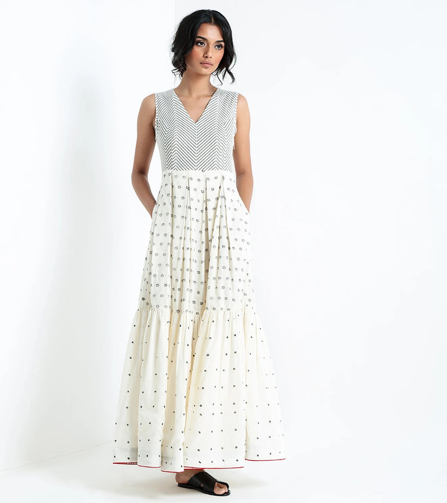 Flare & tiered maxi dress - Ethical made fashion - onlyethikal