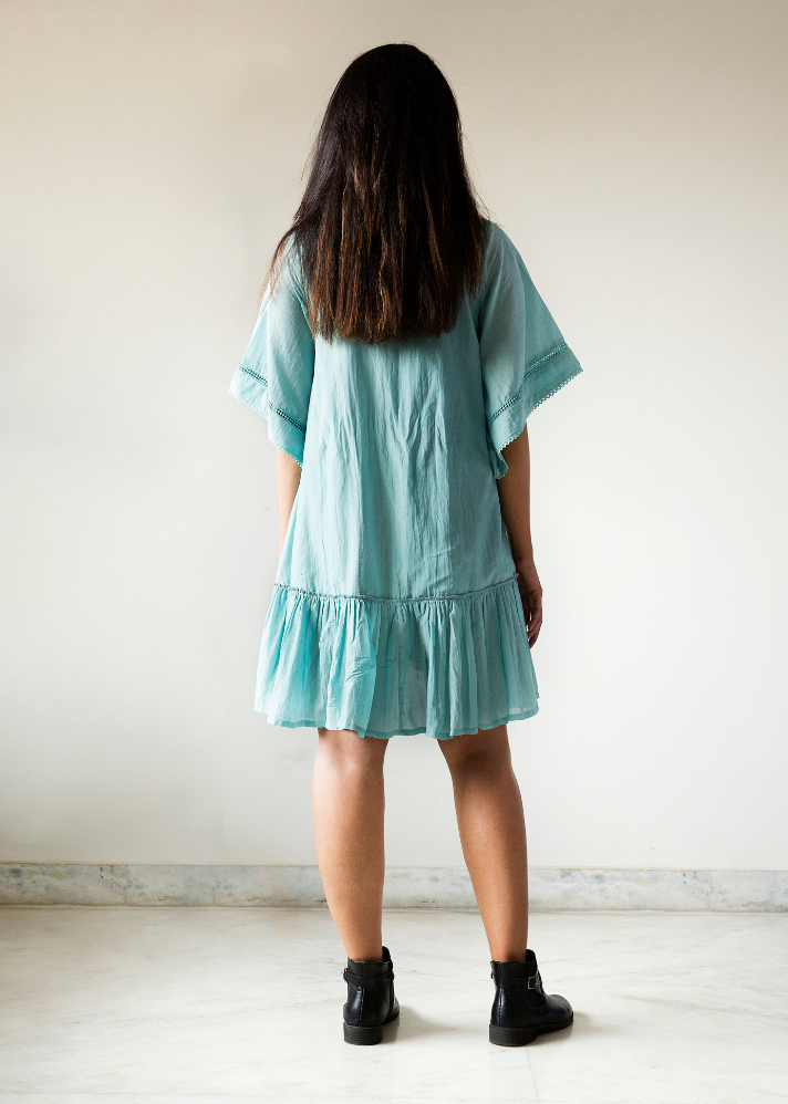 Socially Distant Dress - Ethical made fashion - onlyethikal