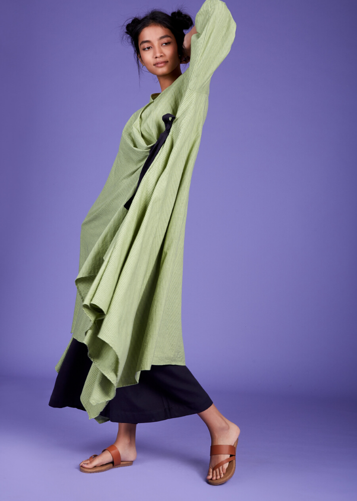 Maxi Dress - Green - Ethical made fashion - onlyethikal