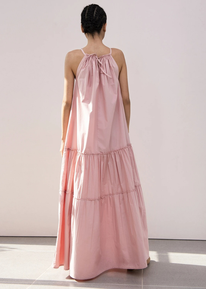 Tulip Tiered Maxi Dress - Ethical made fashion - onlyethikal