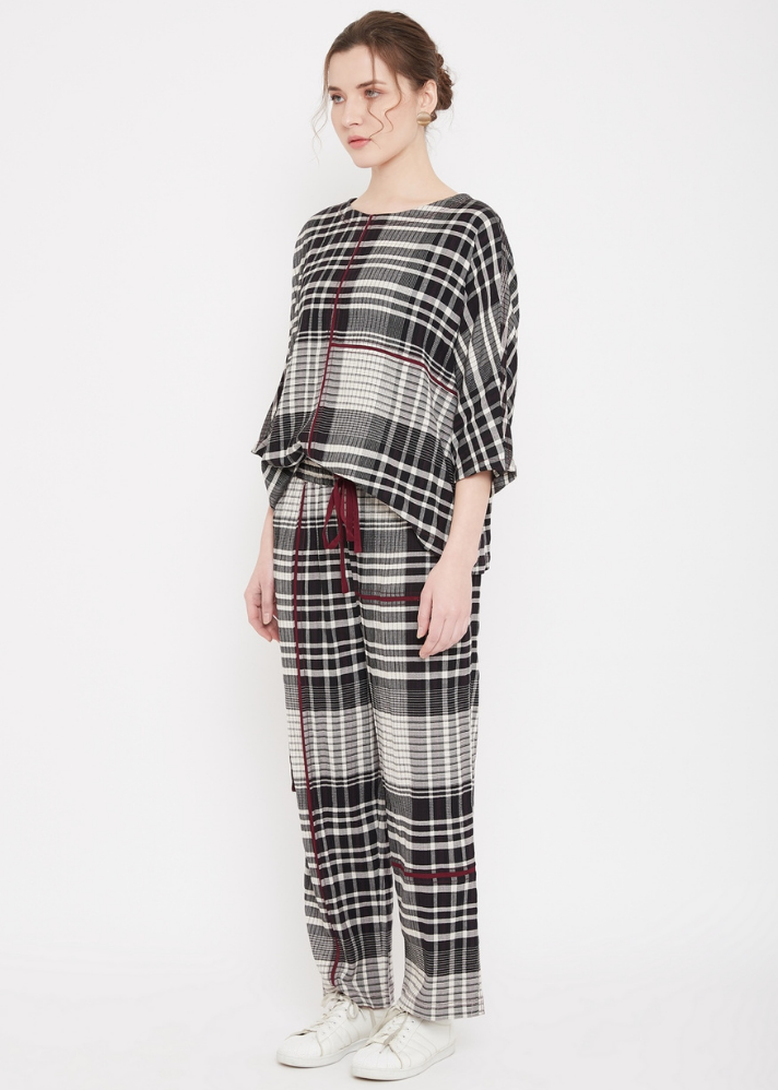 Belle Checkered Top - onlyethikal