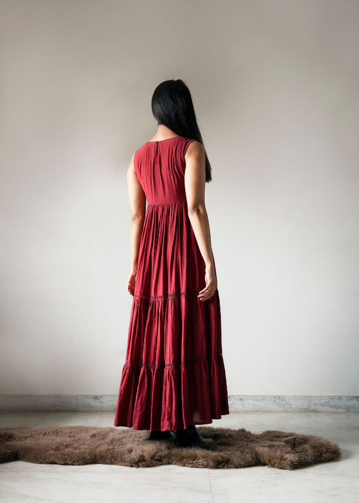 Self-Portrait Maxi Dress - onlyethikal