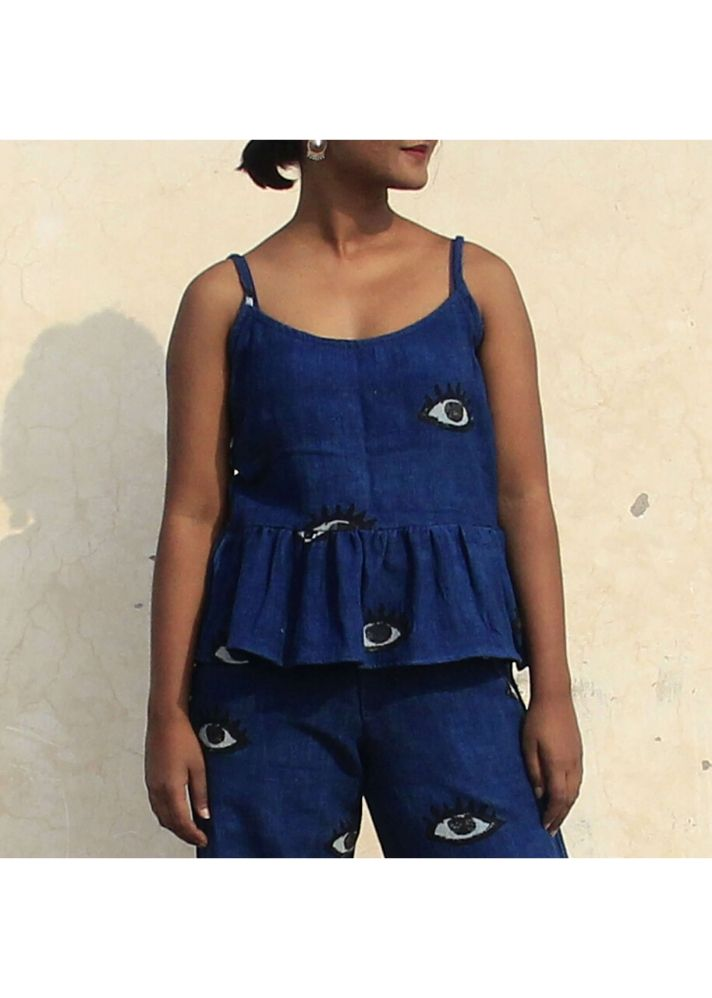 Block Printed Co-ord Set - onlyethikal