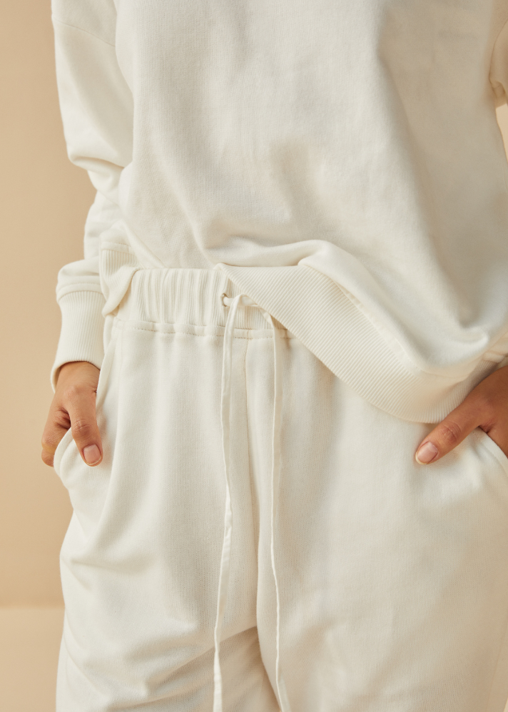 The Palmy Organic Cotton Terry Loungewear Set - onlyethikal