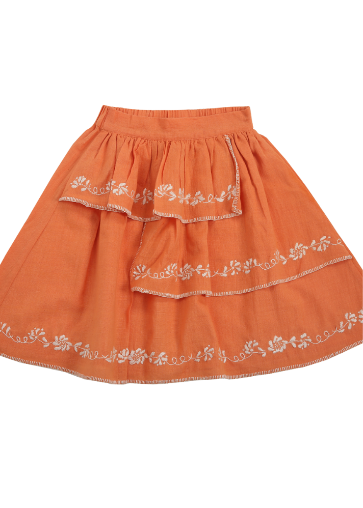 Organic Celosia Skirt - Ethical made fashion - onlyethikal