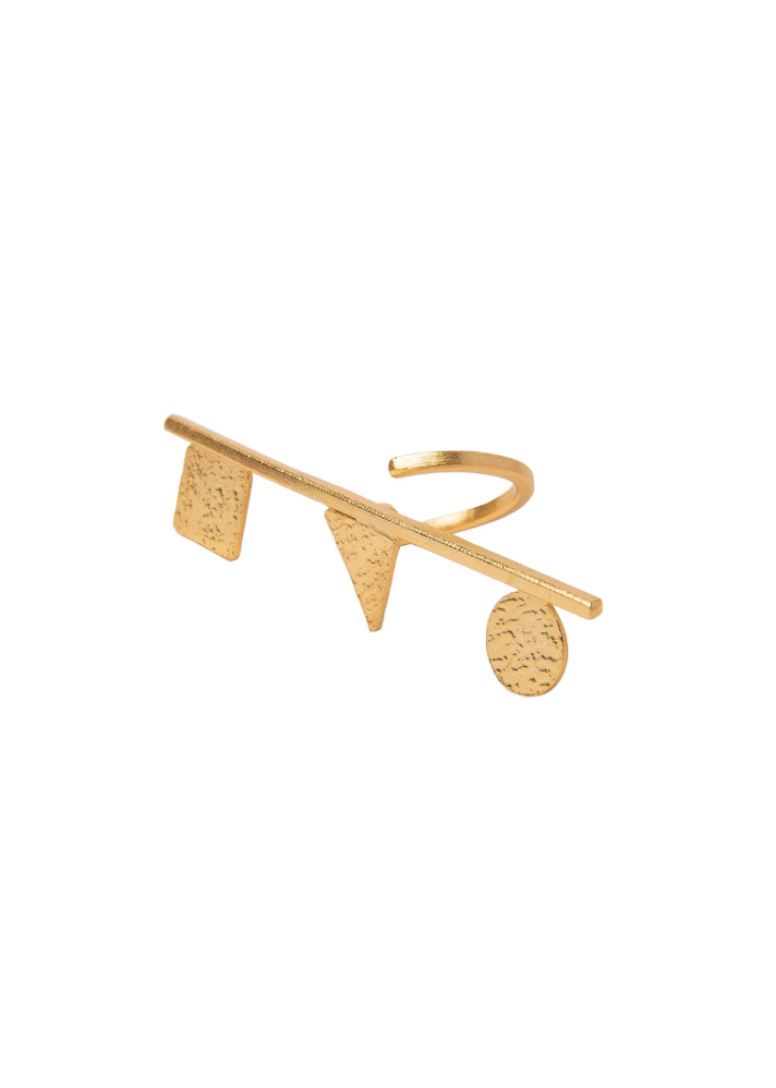 TBC Signature Tilted Ring - Ethical made fashion - onlyethikal