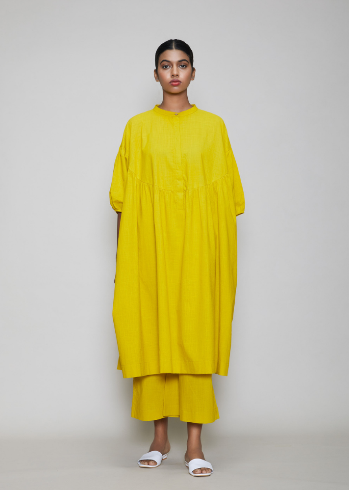 Acra Tunic Set Yellow - onlyethikal