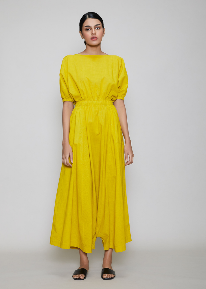 Sphara Jumpsuit Yellow - onlyethikal