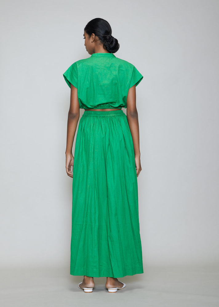 New Sphara Skirt Set Green