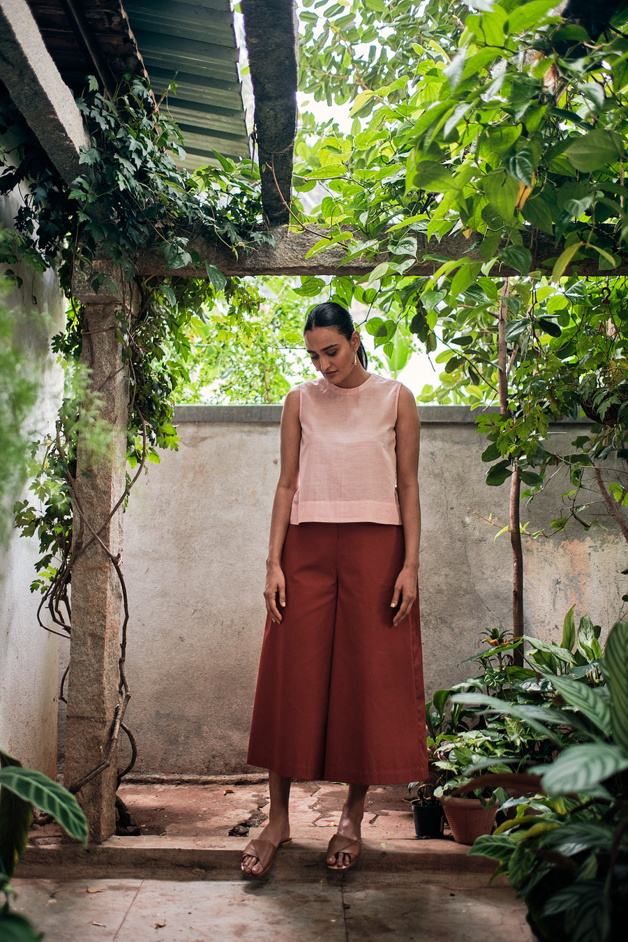Brad brown pants - Ethical made fashion - onlyethikal