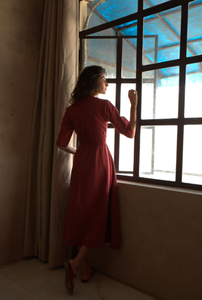 To the Window, To the Wall Midi Dress - onlyethikal