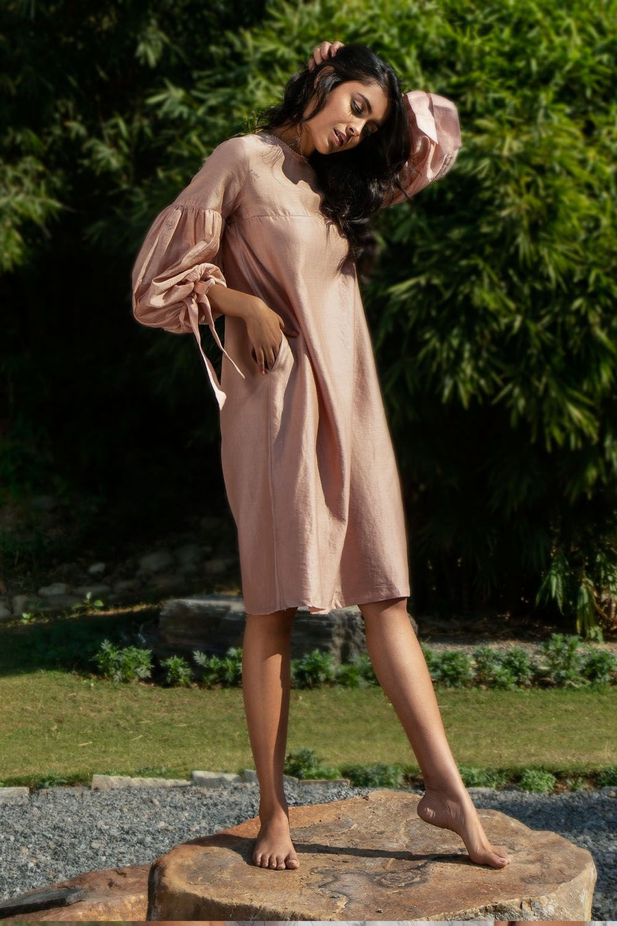 Ready to Bali Pink Dress - Ethical made fashion - onlyethikal