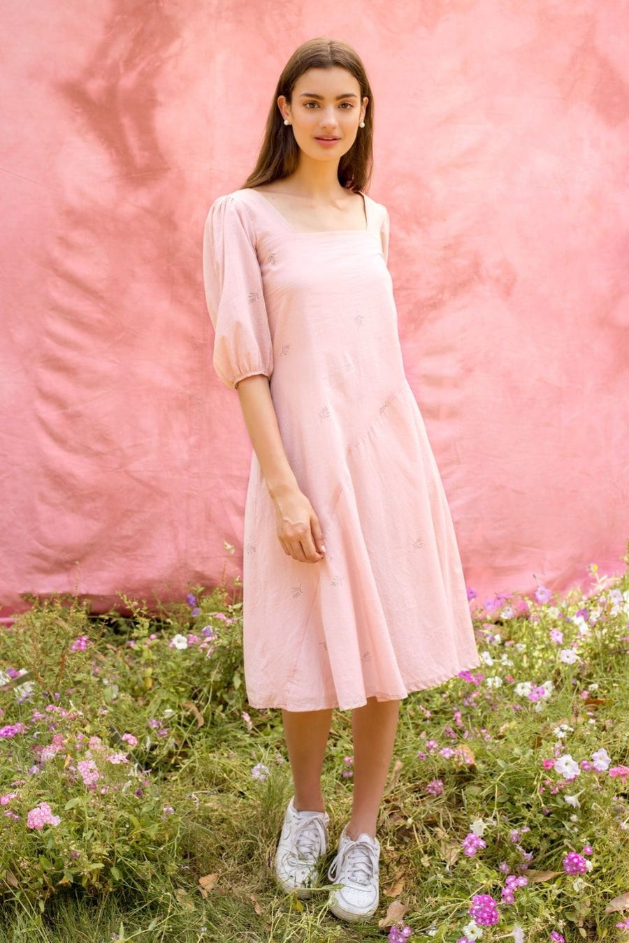 Oh Darling Pink Dress - Ethical made fashion - onlyethikal