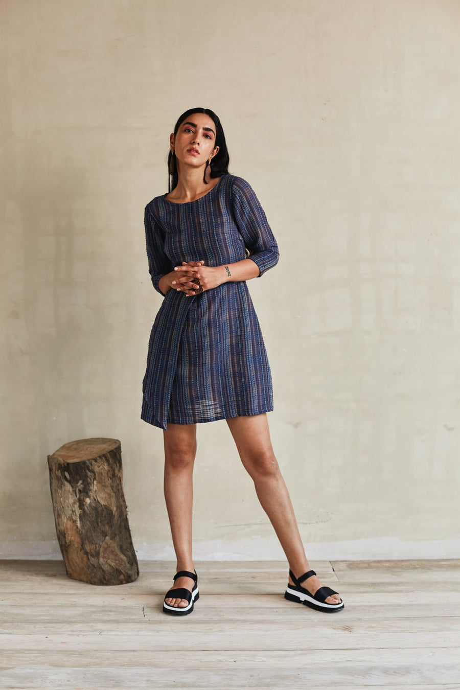 Power Dressing Formal Dress - Ethical made fashion - onlyethikal