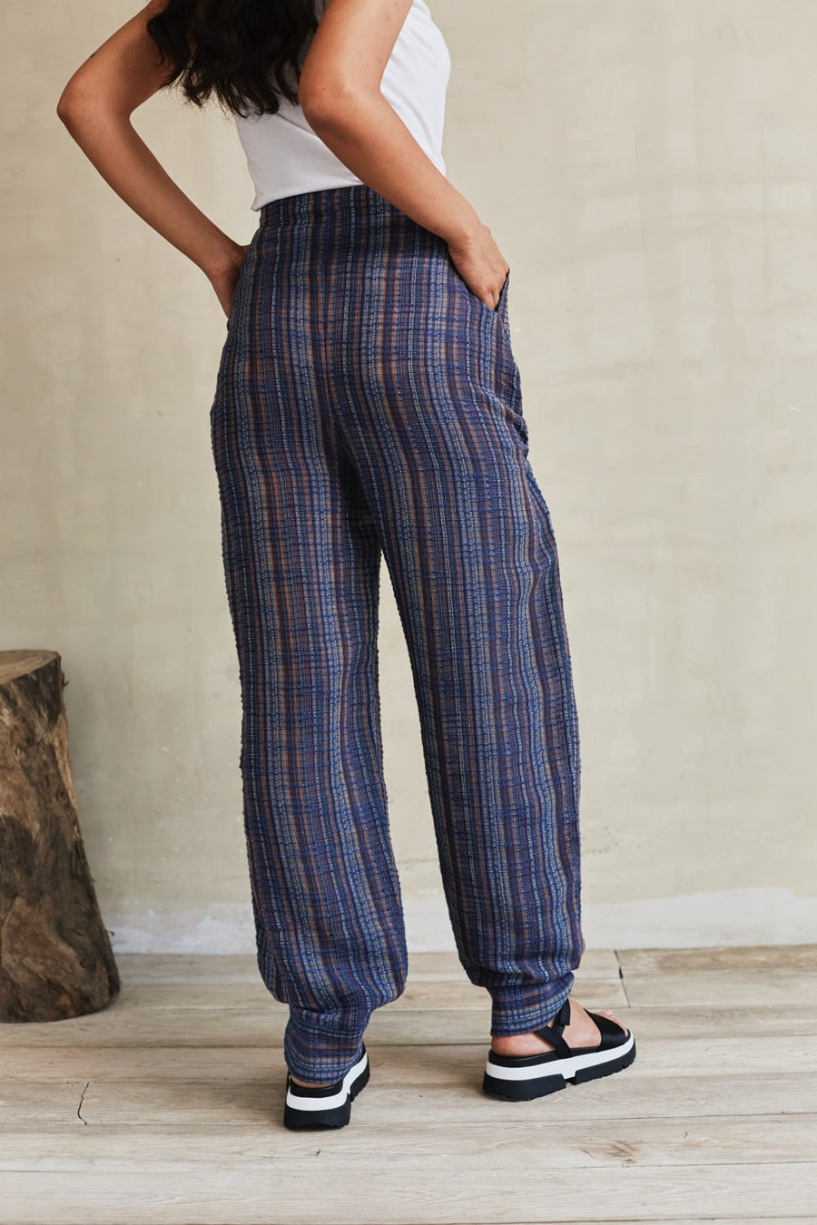 Walk The Talk Relaxed Pants - Ethical made fashion - onlyethikal