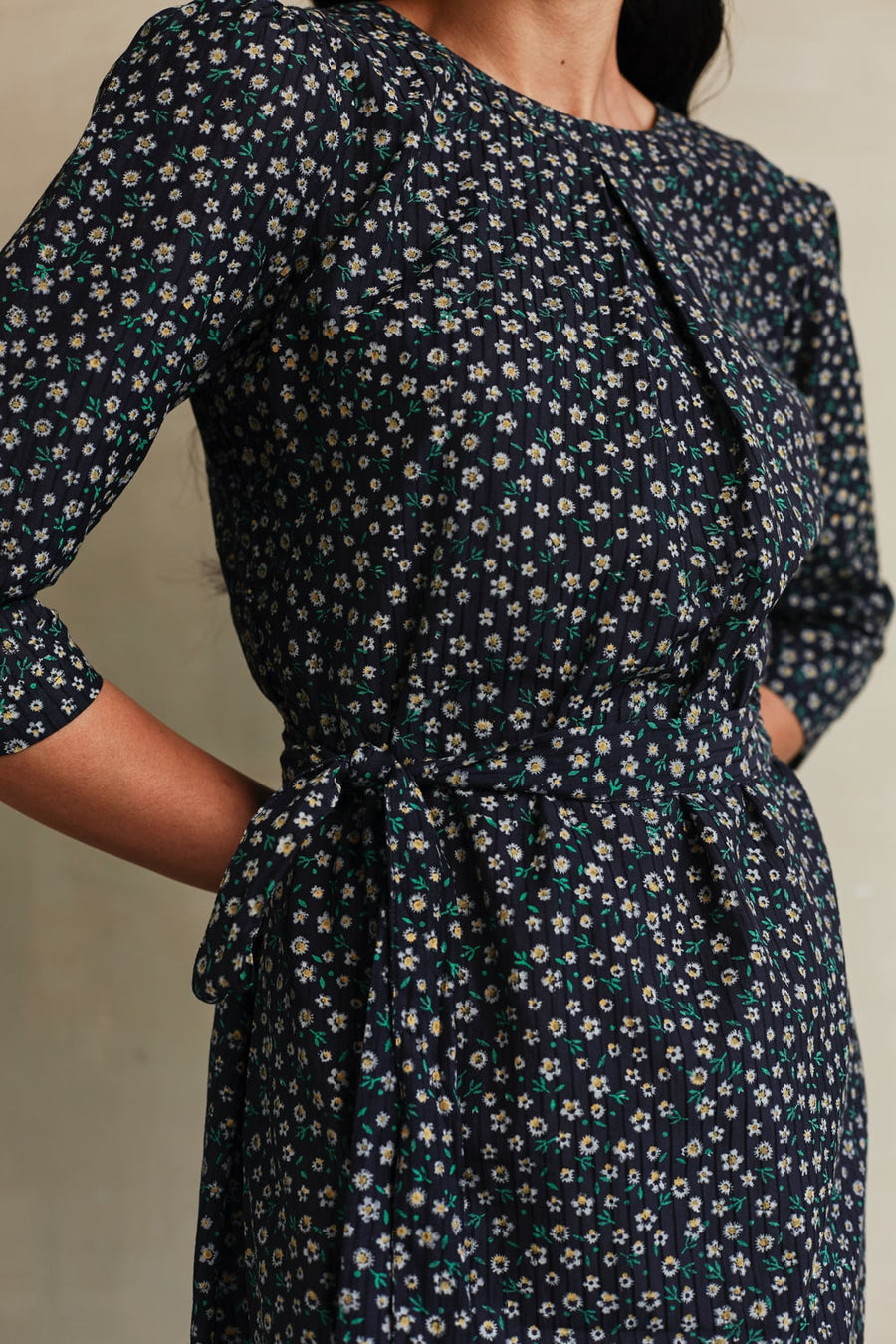 Floral Meadow Shift Dress - Ethical made fashion - onlyethikal