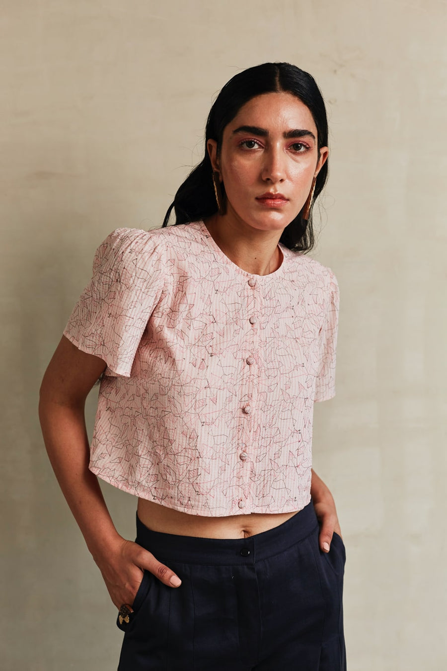 Pink Moon Crop Top - onlyethikal