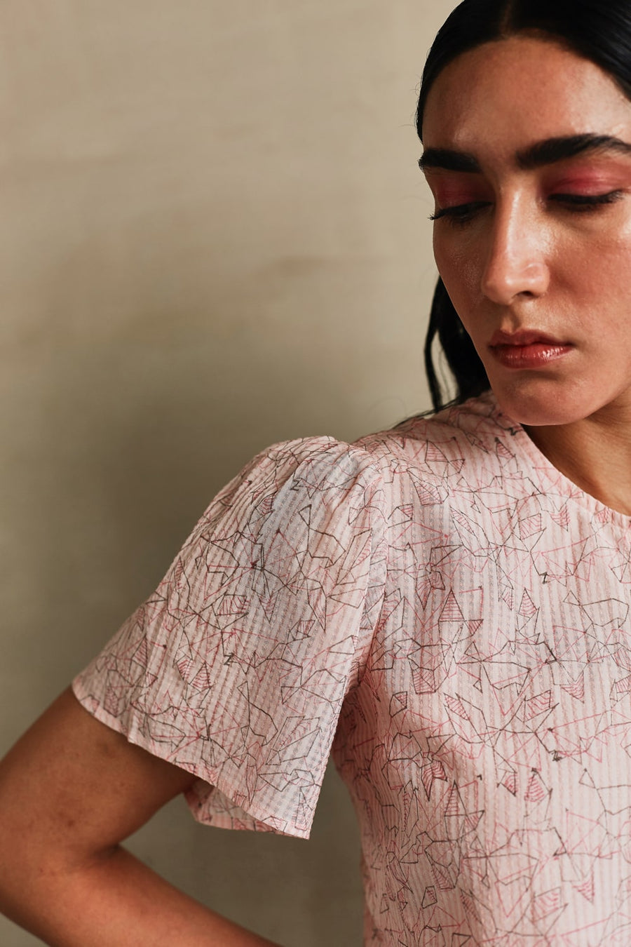 Pink Moon Crop Top - Ethical made fashion - onlyethikal