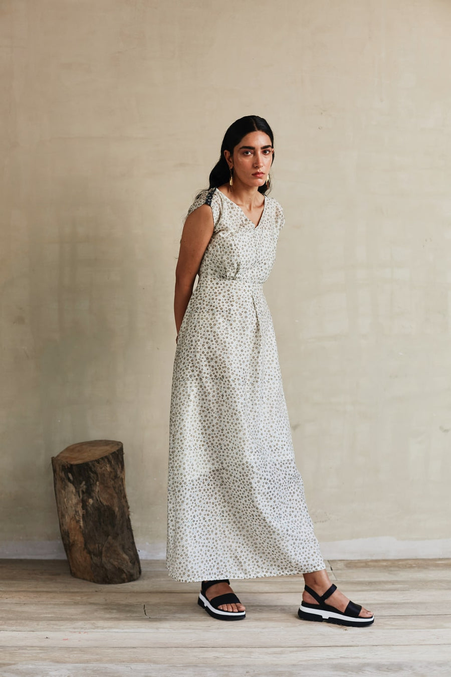 Tuscan Summer Maxi Dress