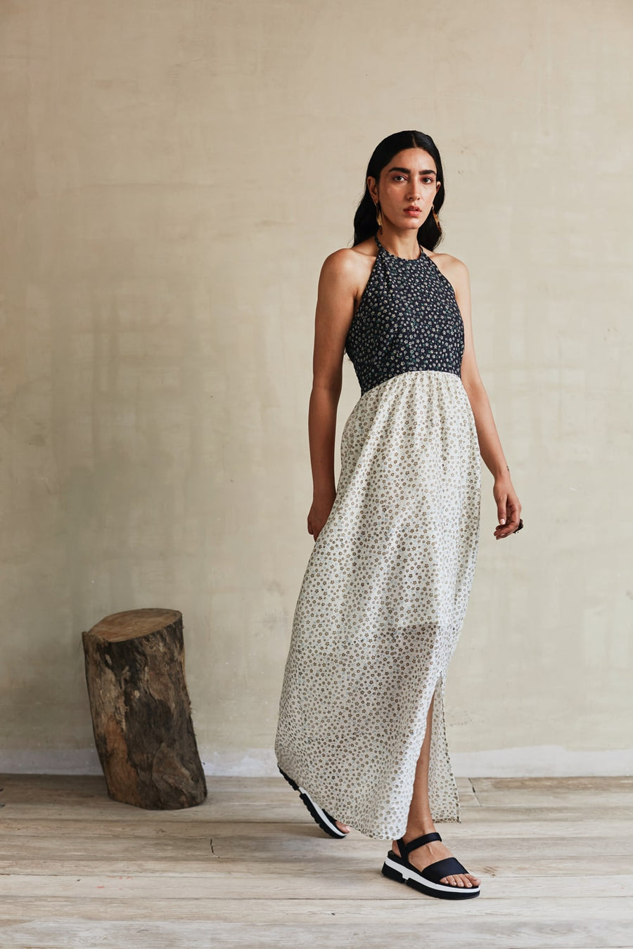 Summer Blossom Maxi Dress - Ethical made fashion - onlyethikal