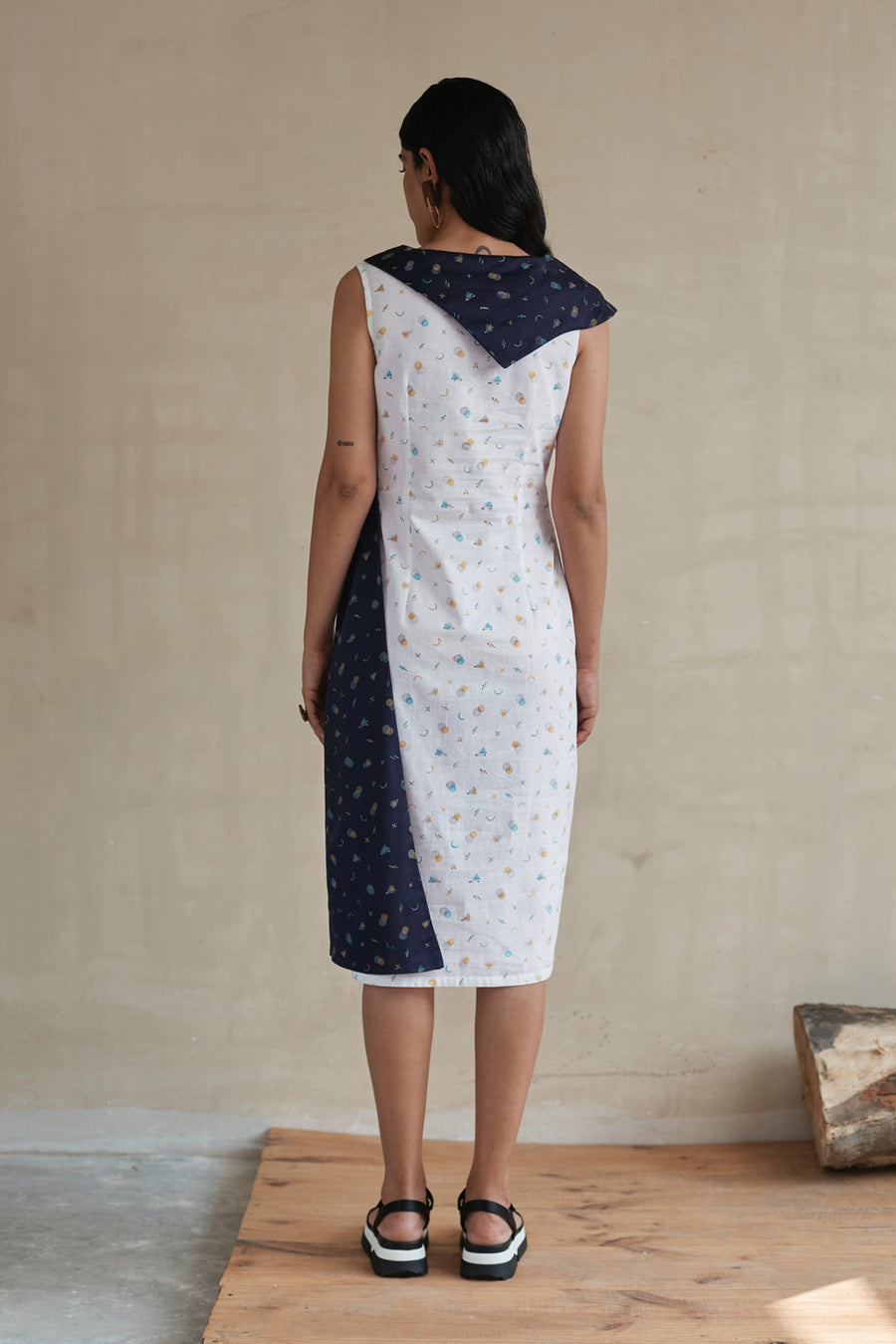 Shifted Shapes Flap Dress - Ethical made fashion - onlyethikal