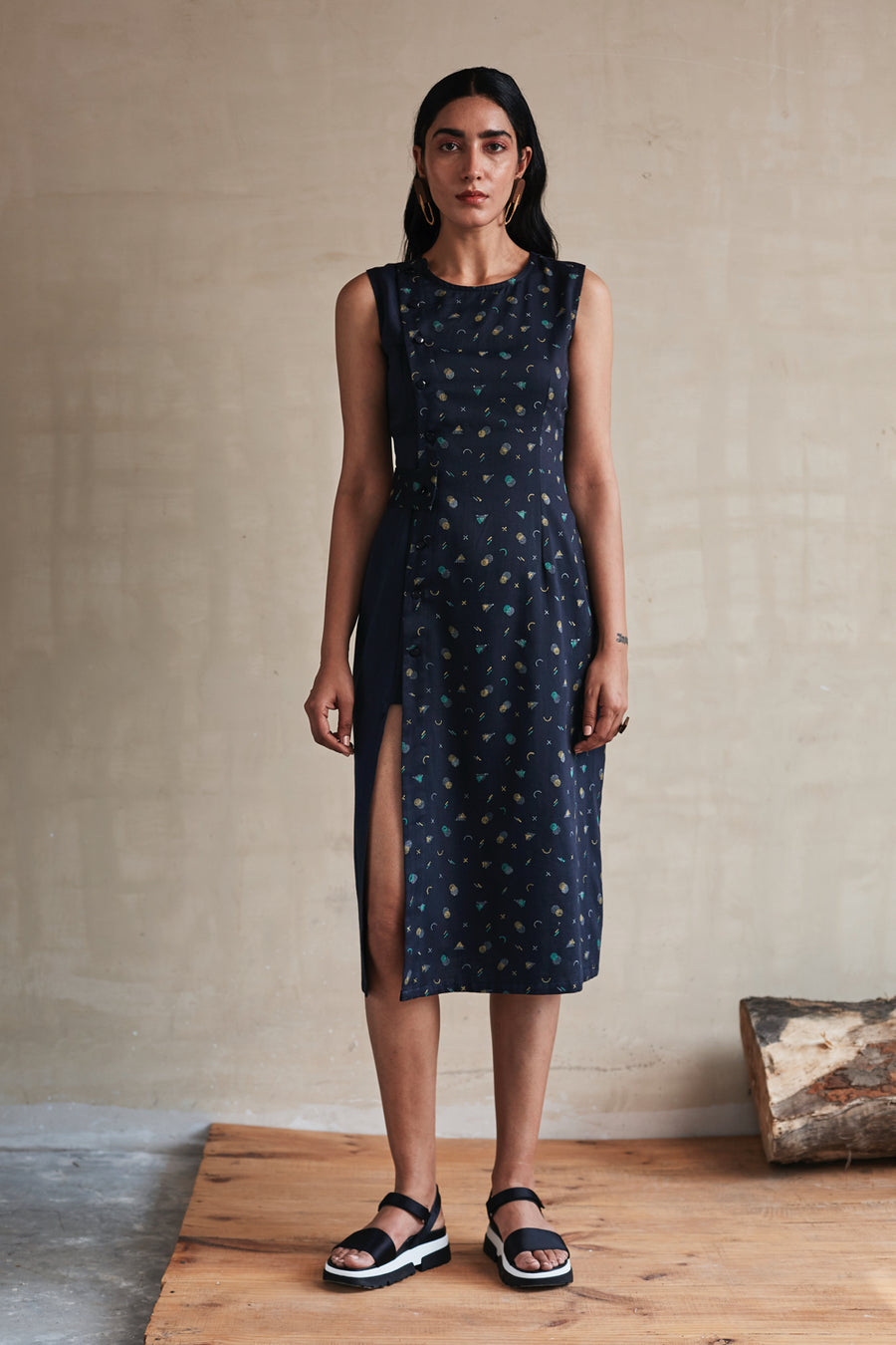 The Split-in-Two Wrap Dress (Set) - Ethical made fashion - onlyethikal
