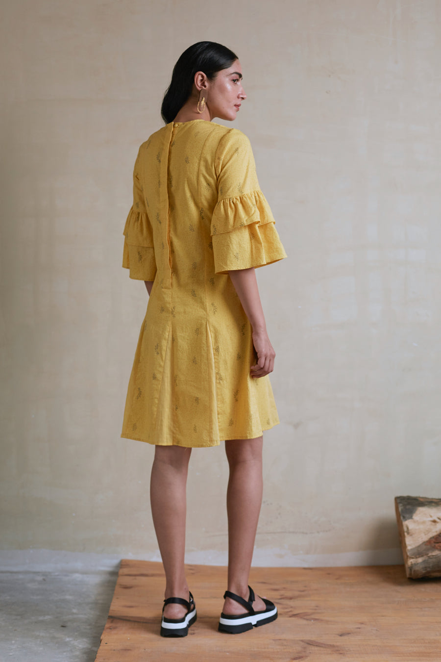 Mustard Seeds Short Dress - Ethical made fashion - onlyethikal