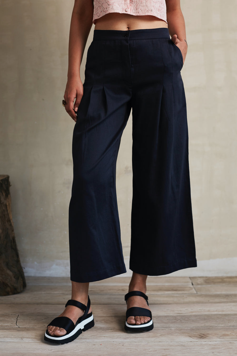 Plain and Simple Pleated Pants - onlyethikal