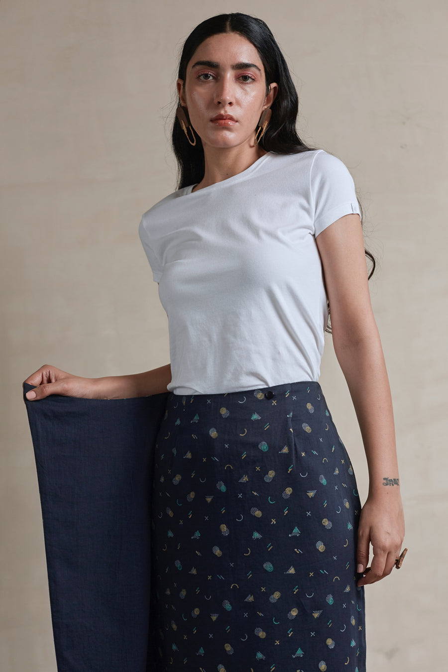 Cozy Evening Wrap Skirt - Ethical made fashion - onlyethikal
