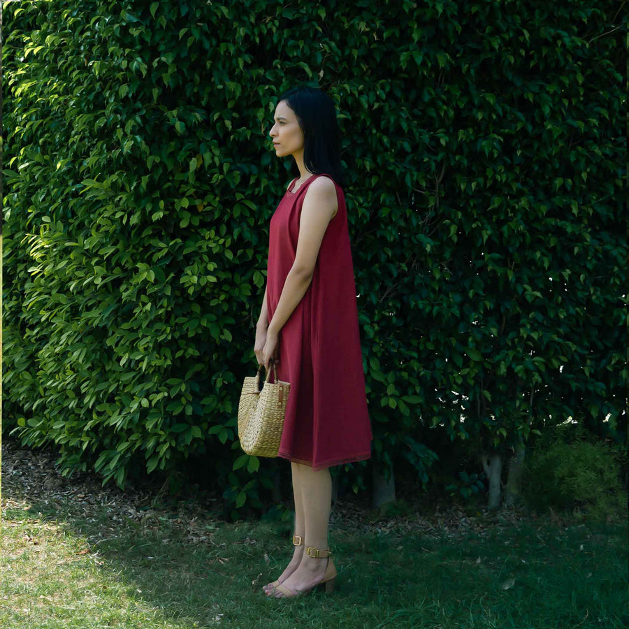 Netflix and Chill Dress - Ethical made fashion - onlyethikal