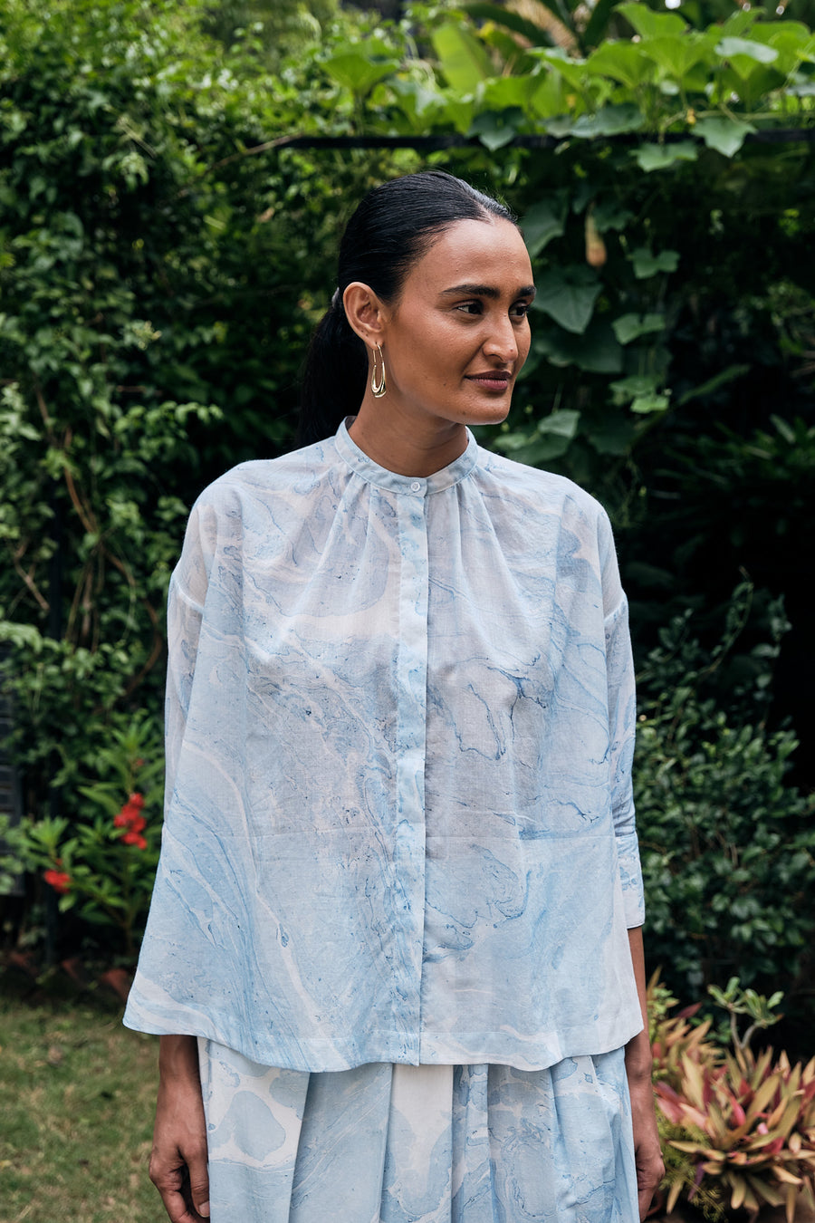 Mohar Cotton Mul Top - Ethical made fashion - onlyethikal