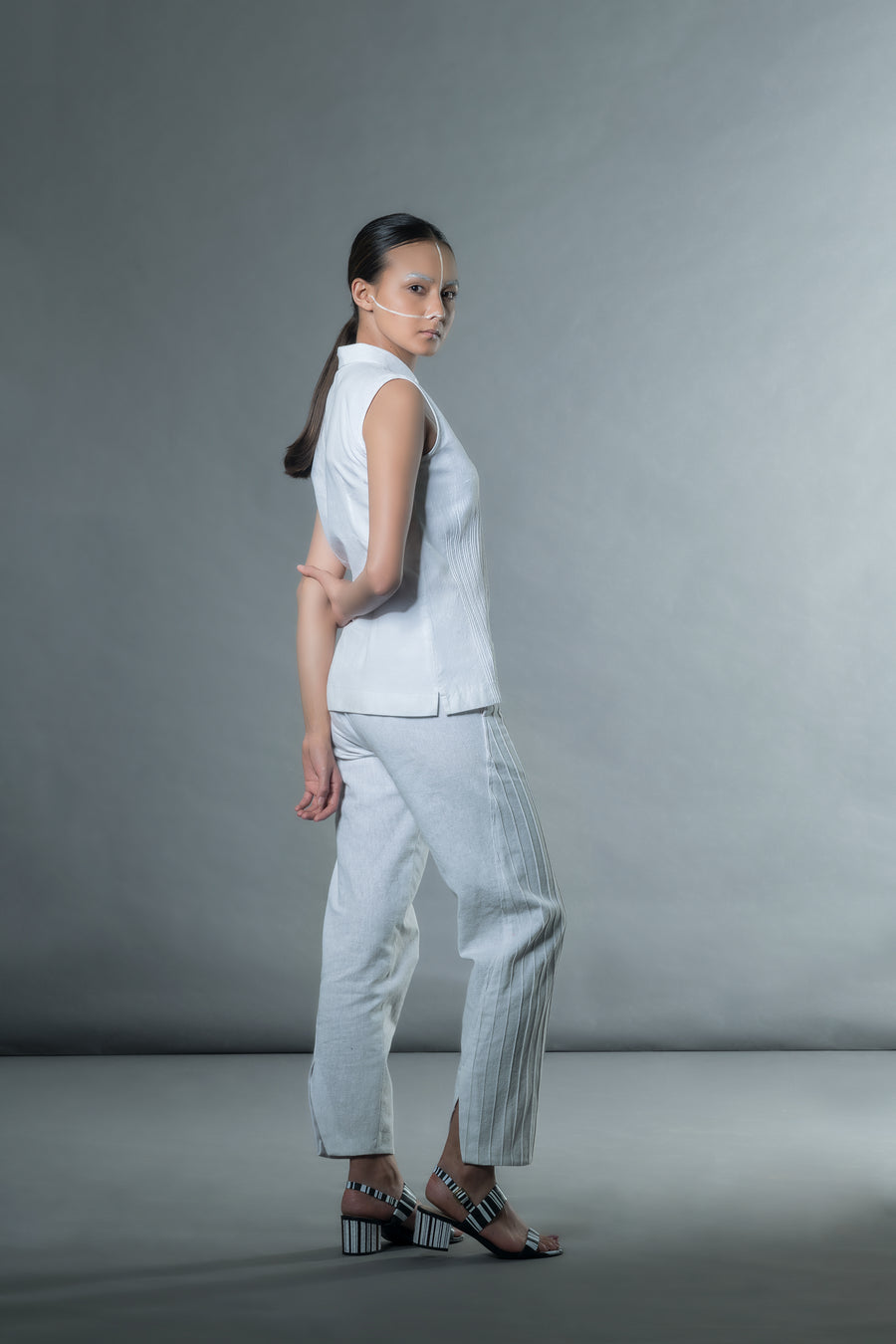 Khadi White Shirt - Ethical made fashion - onlyethikal