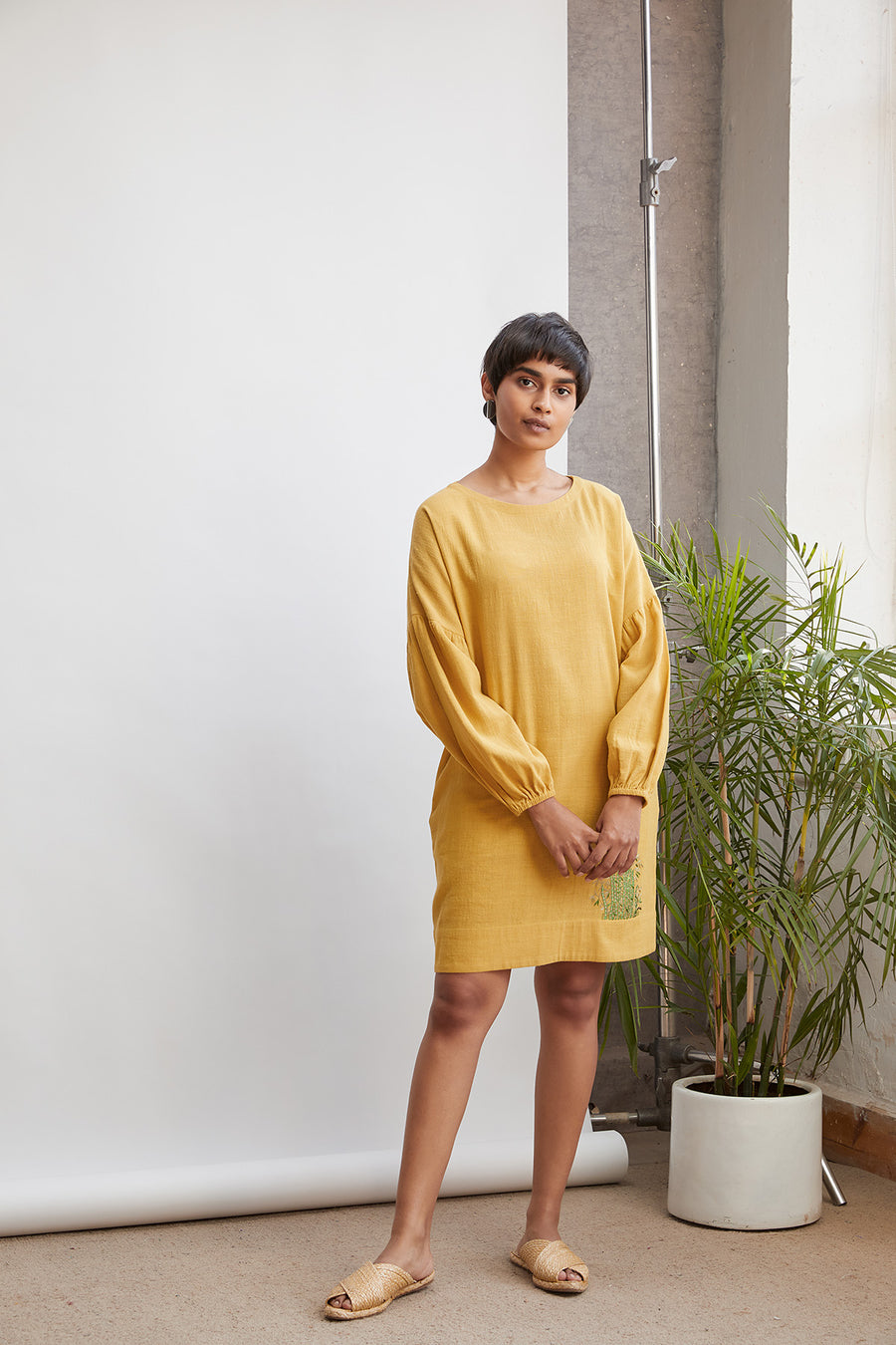 Sunshine organic cotton dress - onlyethikal